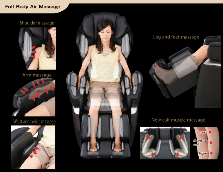 Osaki, japan massage chairs, Premium 4S